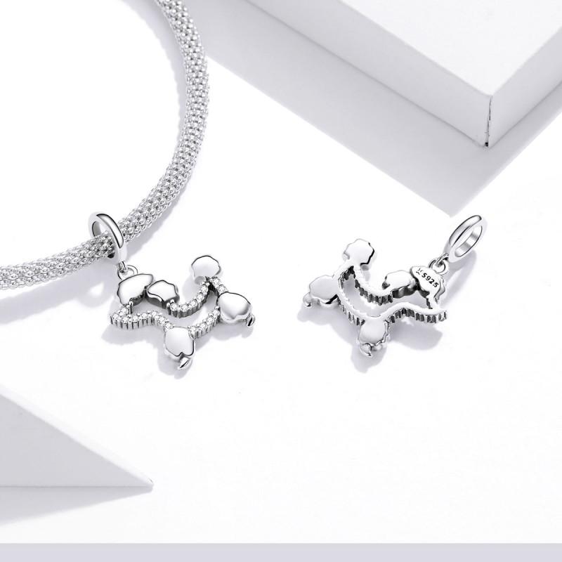 Talisman Argint Pandora Pudel