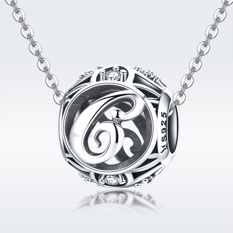 Charm Argint Litera C Pandora