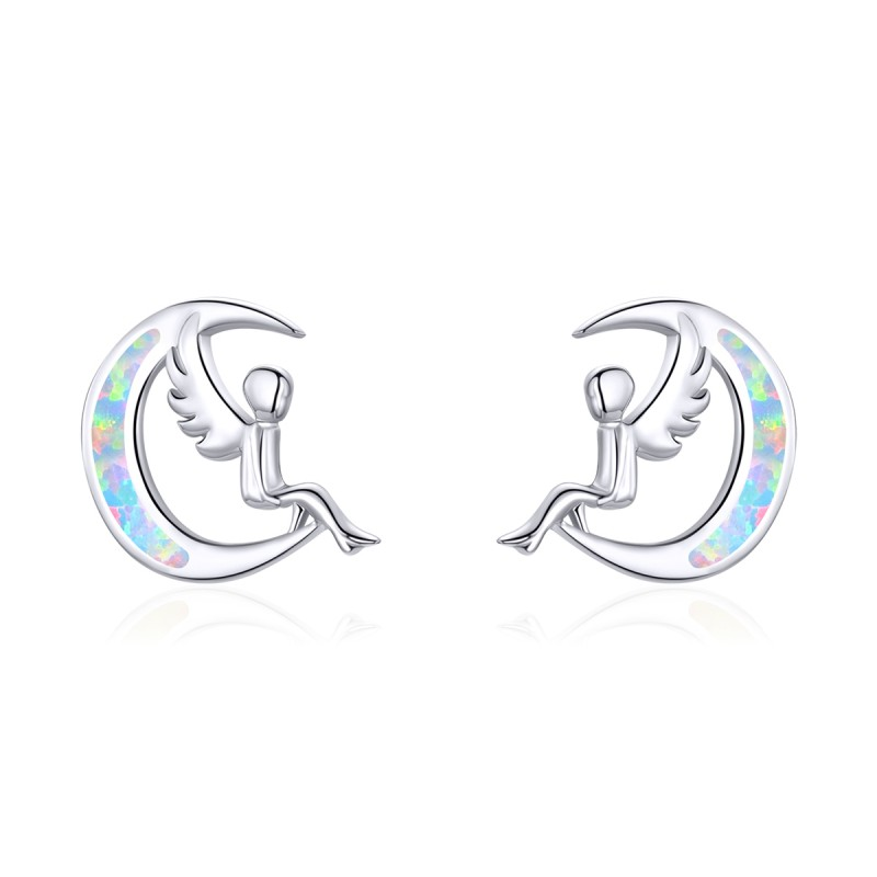 Cercei Argint Zana Semilunii