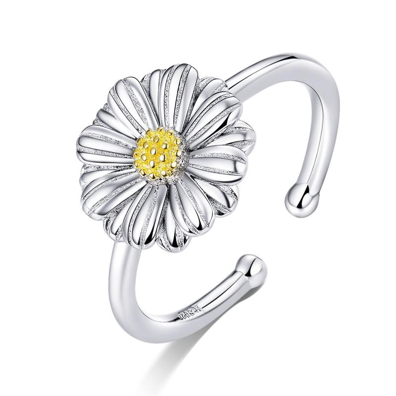 Inel Argint Femei Model Floare