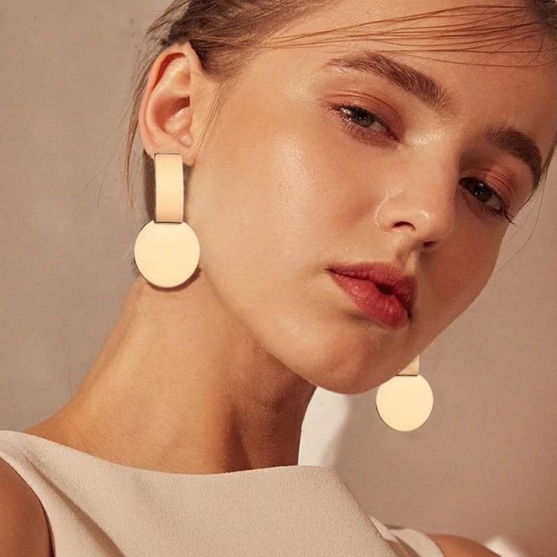 Fashion Earrings Golden Party