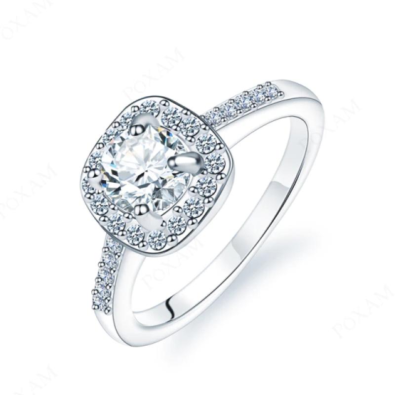 Fashion Ring Crystal Zircon Classic 18mm