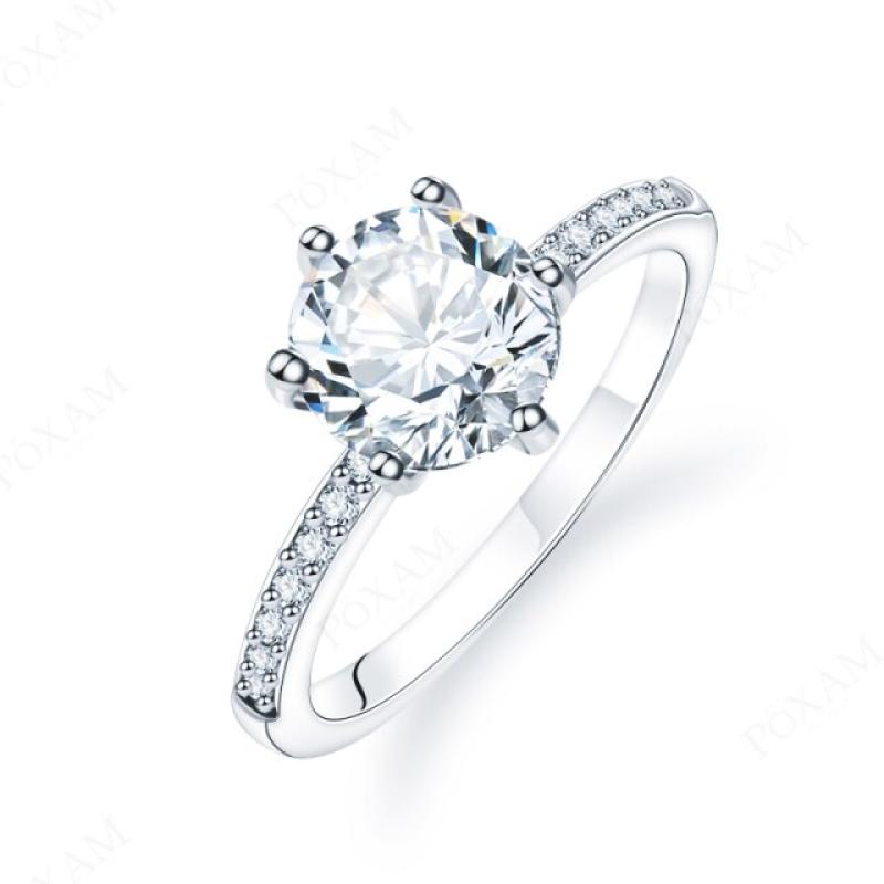 Fashion Ring Crystal Zircon Princess 18 mm