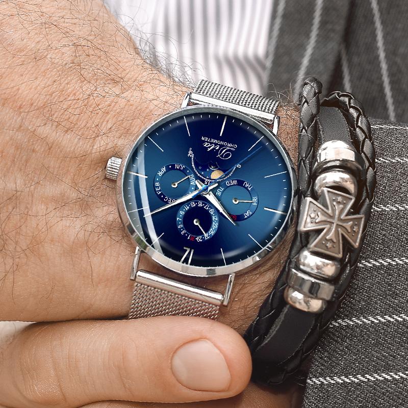 Ceas barbati DITA SS DWK Series Blue Edition