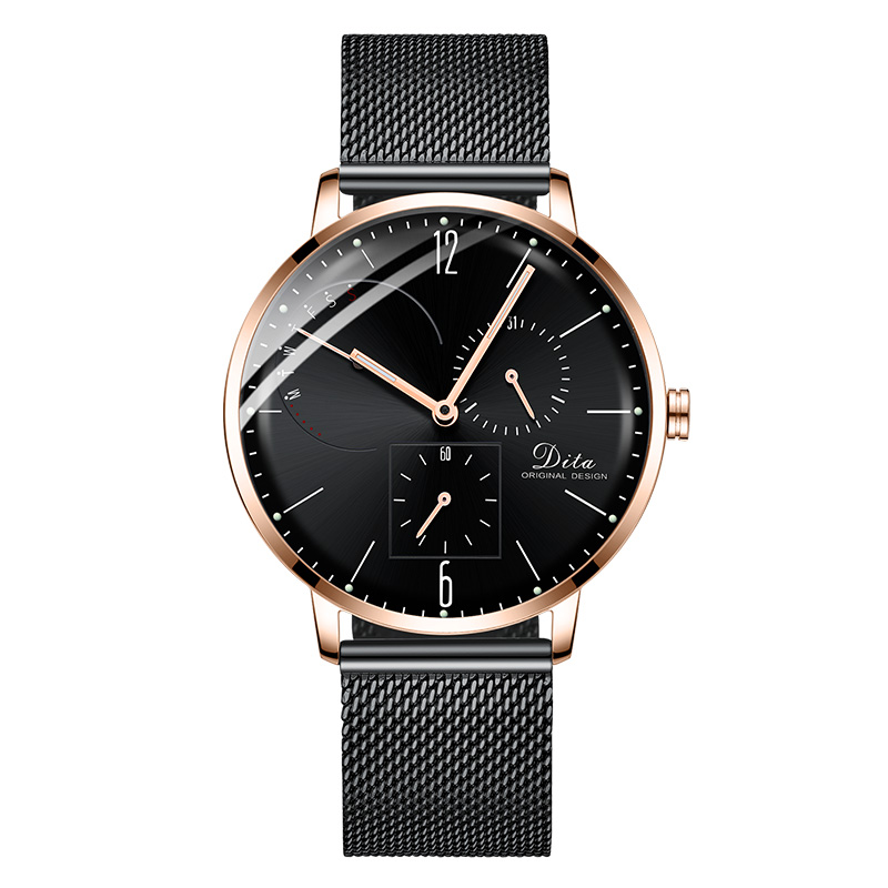Ceas barbati DITA SS DWA Rose Black Edition