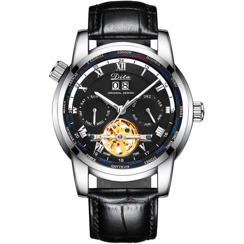 Ceas barbati automatic DITA X Black Edition