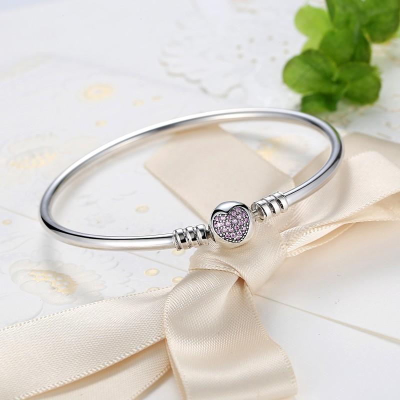 Bratara argint Mystyle Heart Bracelet